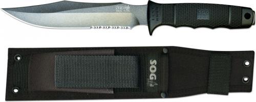 SOG Knives: SOG SEAL Team Knife with Nylon Sheath, SG-S37N