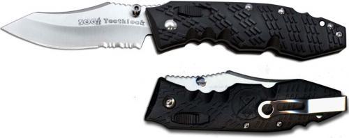 SOG Knives: SOG Toothlock Knife, Part Serrated, SG-TK02