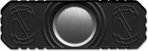 Stedemon Z01BLC Hand Spinner Fidget Toy Stress Reliever Black Anodized Titanium