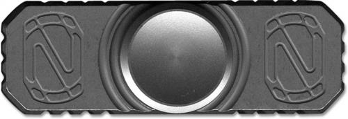 Stedemon Z01BLS Hand Spinner Fidget Toy Stress Reliever Bead Blast Titanium