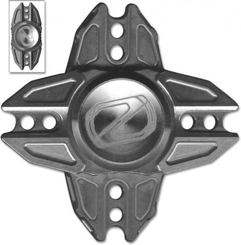 Stedemon Z02X Hand Spinner Fidget Toy Stress Reliever Z02XBLS Bead Blast Titanium