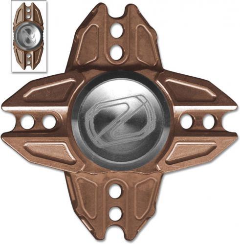 Stedemon Z02X Hand Spinner Fidget Toy Stress Reliever Z02XBRZ Bronze Titanium