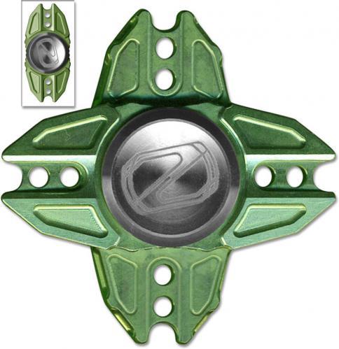 Stedemon Z02X Hand Spinner Fidget Toy Stress Reliever Z02XGRN Green Titanium