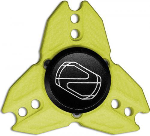 Stedemon Z04BGRN Fidget Spinner Stress Reliever Green G10 Tri Lobe