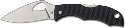 Spyderco BY12GP2 Starling 2 Knife, 1.95 Inch Blade, Black G10 Handle