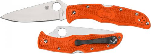 Spyderco Endura 4 Lightweight, Orange, SP-C10FPOR