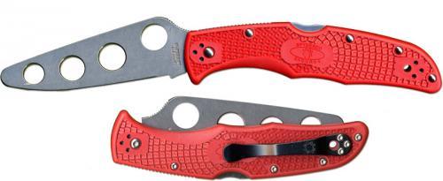 Spyderco Knives: Spyderco Endura 4 Trainer Knife, SP-C10TR