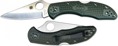 Spyderco Knives: Spyderco Delica 4 ZDP189 Knife, SP-C11PGRE