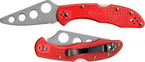 Spyderco Knives: Spyderco Delica 4 Trainer Knife, SP-C11TR