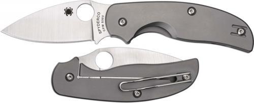 Spyderco Knives: Spyderco Sage Knife, Titanium, SP-C123TIP