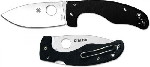 Spyderco Junior Knife by Dialex - C150GP - Discontinued Item - Serial # - BNIB