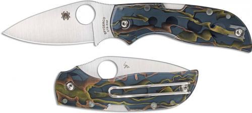 Spyderco C152RNP Chaparral Raffir Noble Knife, 2.80 Inch CTS XHP Blade, Raffir Noble Handle