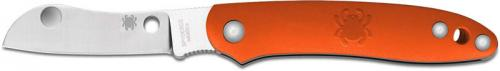 Spyderco Roadie Knife, Orange FRN, SP-C189POR