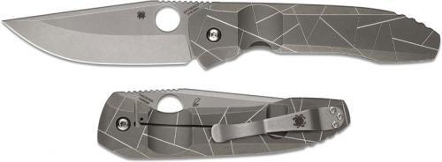 Spyderco Nirvana Knife, SP-C199TIP