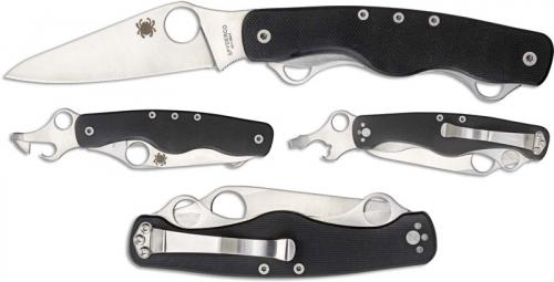 Spyderco ClipiTool Standard C208GP Compact Multi Function Folder Locking Blade G10 Handle