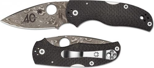 Spyderco Native 5 40th Anniversary Knife, SP-C41CF40TH