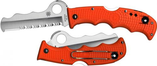 Spyderco Knives: Spyderco Assist Knife with Carbide Tip, Orange, SP-C79PSOR