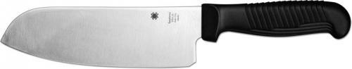 Spyderco Santoku Knife, Black Handle, SP-K08PBK