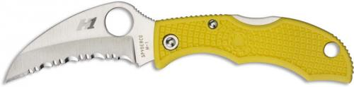 Spyderco Knives: Spyderco Ladybug3 Hawkbill Salt Knife, SP-LYLS3HB