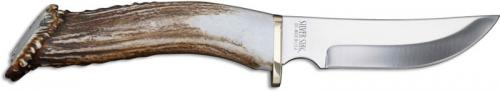 Silver Stag Mountain Edge Knife, Antler Crown, SS-ME525