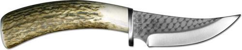 Silver Stag Skinner, Elk Stick Tool Steel, SS-SS45ES