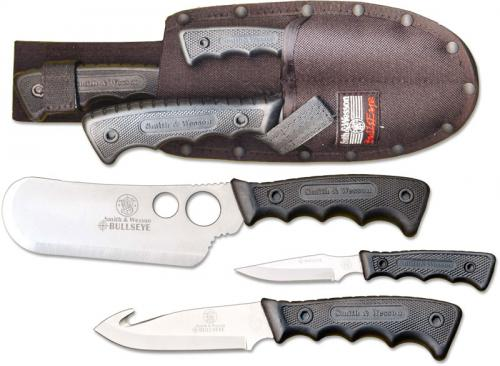 Smith and Wesson Knives, Bullseye Campfire Knife Set, SW-CAMP