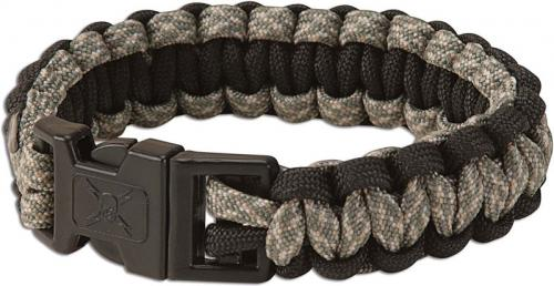 Paracord Survival Bracelet, Dark Camo, UC-2815