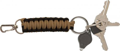 Paracord Key Fob, Coyote, UC-2824