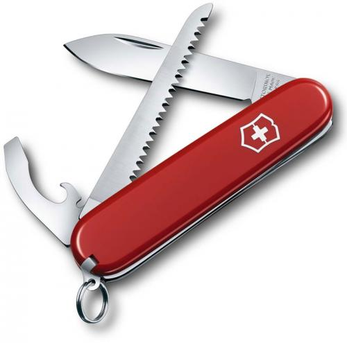 Victorinox Walker 0.2313US2 Swiss Army Knife 9 Function Red Pocket Knife Made in Switzerland