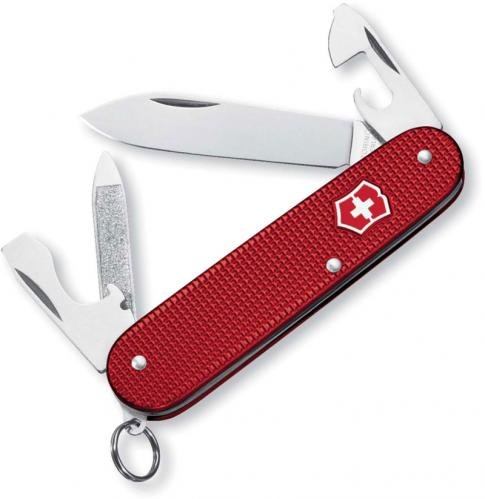 Victorinox Knives: Victorinox Cadet Knife, Red, VN-53043