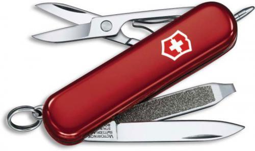 Victorinox Knives: Victorinox Signature Lite, Red, VN-53186