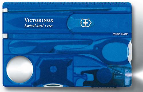 Victorinox SwissCard Lite, Sapphire, VN-53332