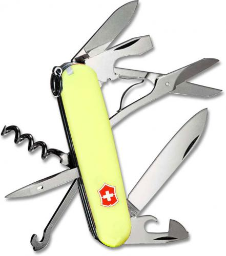 Victorinox Knives: Victorinox Climber Knife, StayGlow Handle, VN-53388