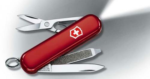 Victorinox SwissLite Knife, Red, VN-54030