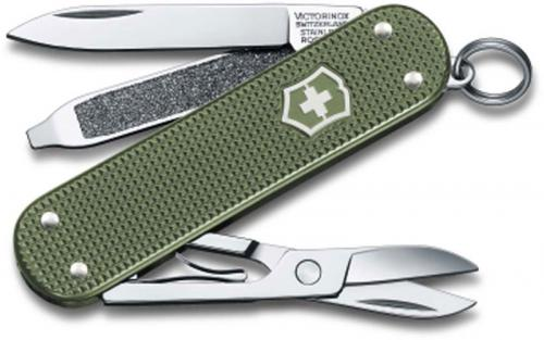 Victorinox 0.6221.L17 Classic SD Knife Limited Edition Olive Green Alox 5 Function Multi Tool