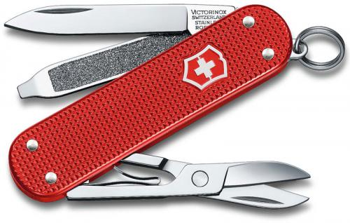 Victorinox 0.6221.L18 Classic SD Knife Limited Edition Berry Red Alox 5 Function Multi Tool
