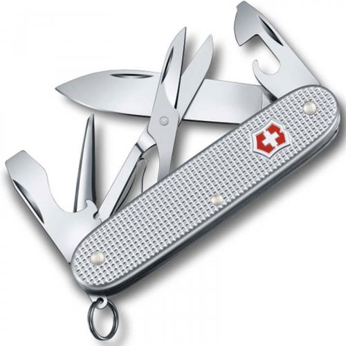 Victorinox Pioneer X Knife, Silver Alox, VN-823126US2