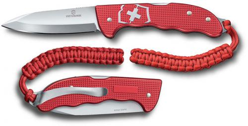 Victorinox Hunter Pro Alox 0.9415.20, Drop Point Blade, Red Alox Lockback Folder