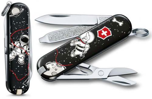Victorinox 0.6223.L1707US2 Classic SD Limited Edition Space Walk 7 Function Multi Tool