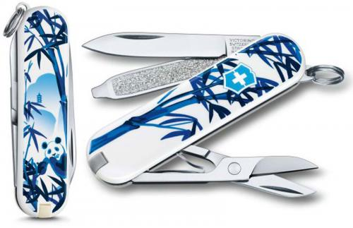 Victorinox 0.6223.L1708US2 Classic SD Limited Edition The Giant Panda 7 Function Multi Tool