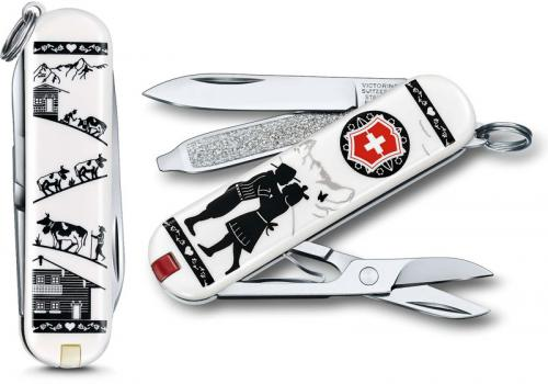 Victorinox 0.6223.L1801US2 Classic SD Limited Edition Alps Love 7 Function Multi Tool