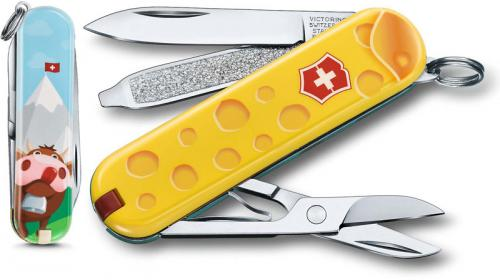 Victorinox 0.6223.L1902US2 Classic SD Limited Edition Alps Cheese 7 Function Multi Tool