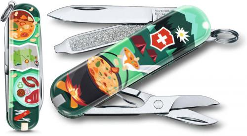 Victorinox 0.6223.L1907US2 Classic SD Limited Edition Swiss Mountain Dinner 7 Function Multi Tool