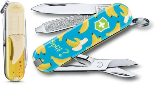 Victorinox 0.6223.L1908US2 Classic SD Limited Edition Banana Split 7 Function Multi Tool