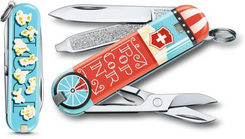 Victorinox 0.6223.L1910US2 Classic SD Limited Edition Let It Pop 7 Function Multi Tool