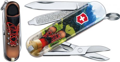 Victorinox Classic SD - Limited Edition I Love Hiking - 7 Function Multi Tool - 0.6223.L2002