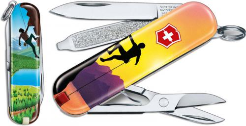 Victorinox Classic SD - Limited Edition Climb High - 7 Function Multi Tool - 0.6223.L2004