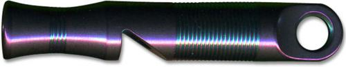 WE Knife A-05A Purple Titanium 120 Decibel Emergency Whistle