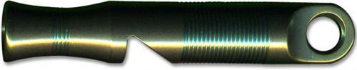 WE Knife A-05C Green Titanium 120 Decibel Emergency Whistle