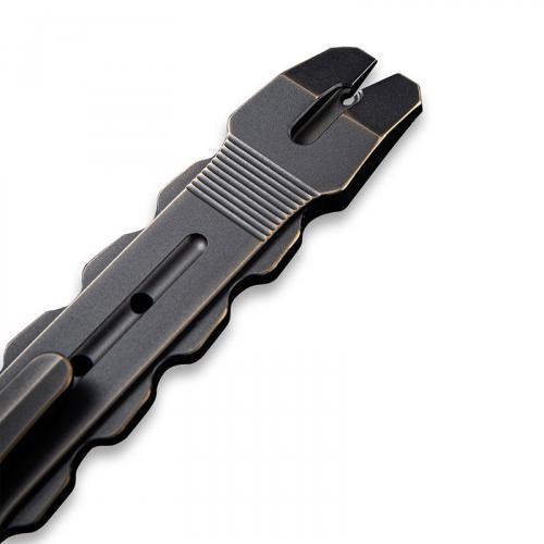 WE Knife Gesila A-08A - Prybar Multitool - Antique Bronze Ti